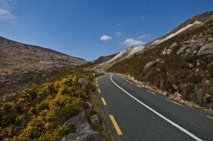 The Wicklow Gap.Join us on our Ireland car tour